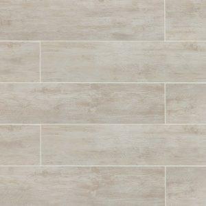 "River Wood 8""x36"" Floor & Wall Tile in Blanc"