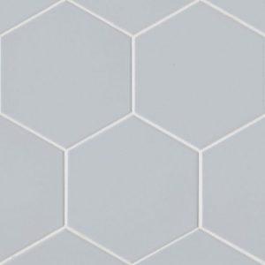 "Uni 8""x8"" Floor & Wall Tile in Silver"
